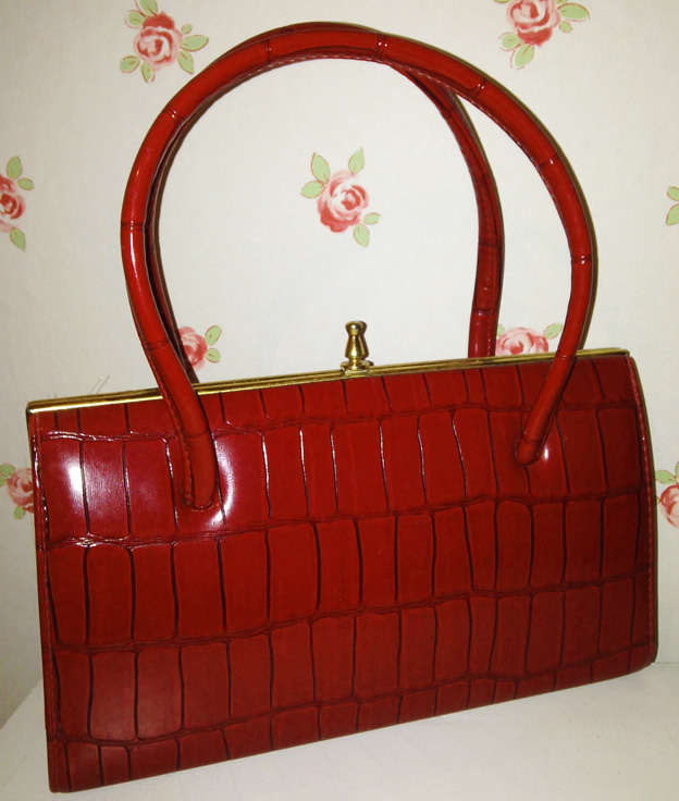 Red 1950s bag