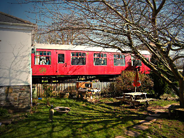 The Old Station Inn Railway Carriage