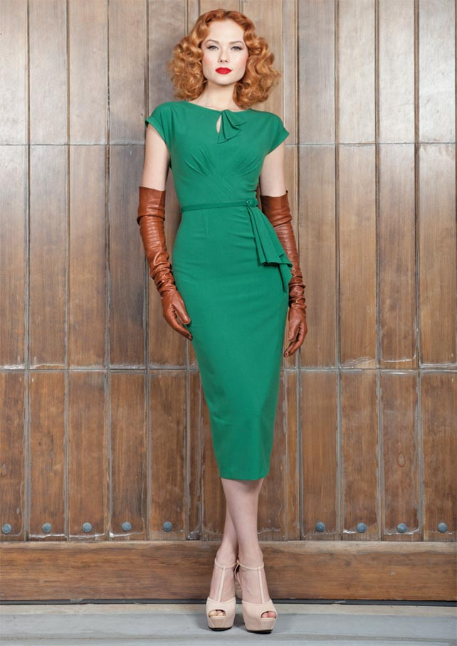 Stop Staring Timeless Dress Green