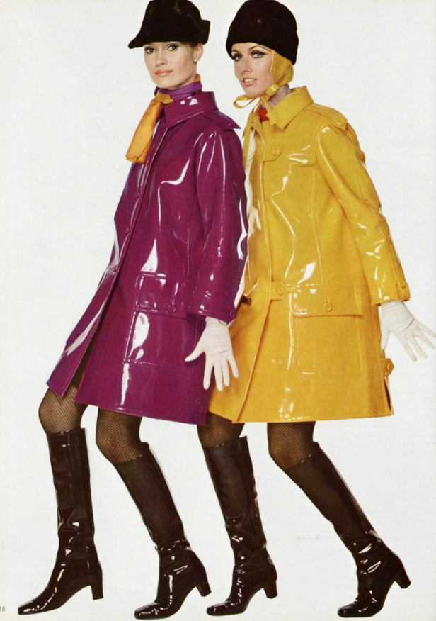 1960s Colourful Rain Macs