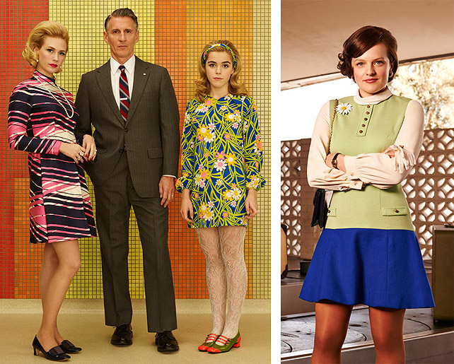 Mad Men Betty, Sally & Peggy