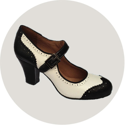 Ginger Swing Dance Shoes - Revival Retro