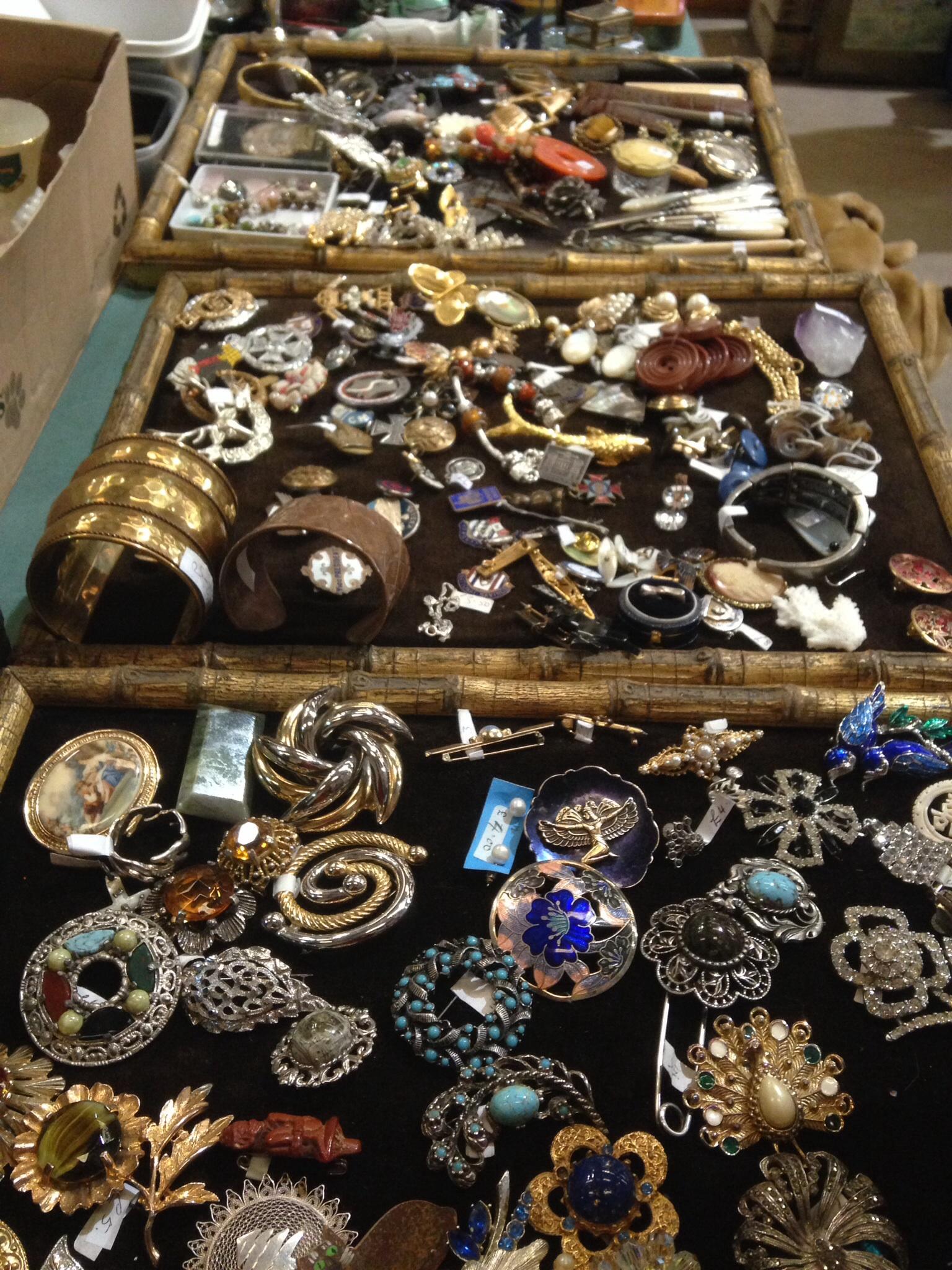 Shepton Mallet Flea Market - jewellery