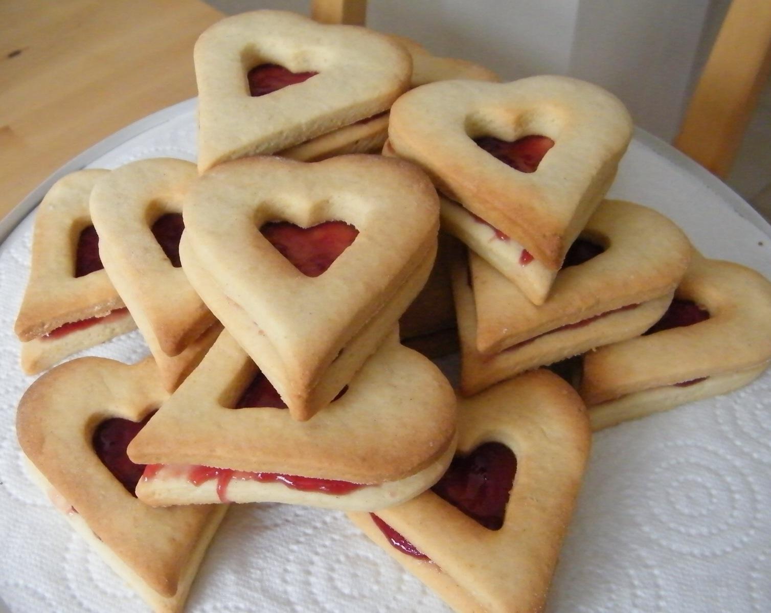 Valentine's Shrewsbury biscuits