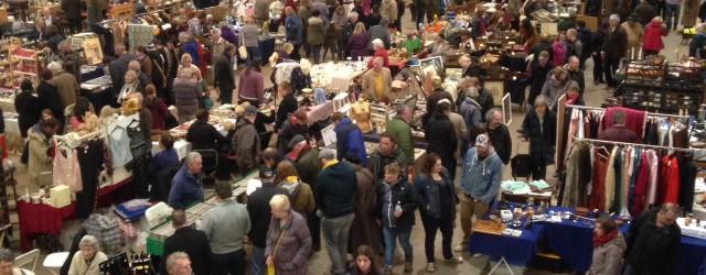 Shepton Mallet Flea Market inside
