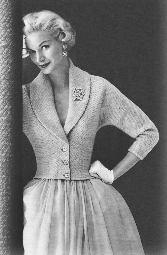 1950s Knitted Jacket