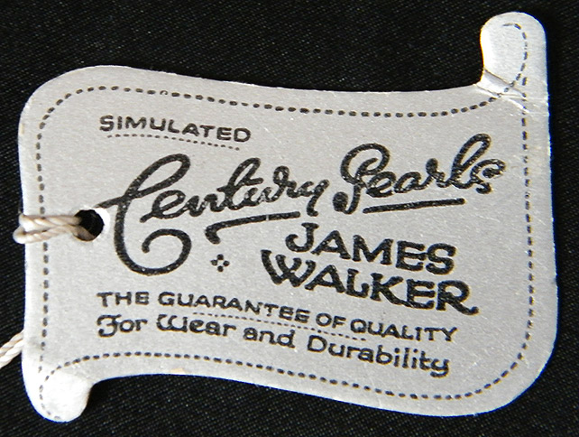 James Walker label front