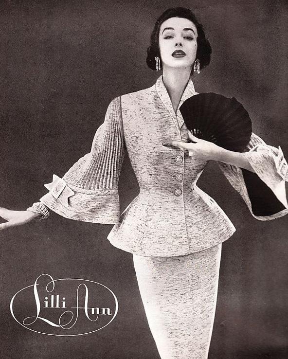 Lilli Ann Peplum Jacket