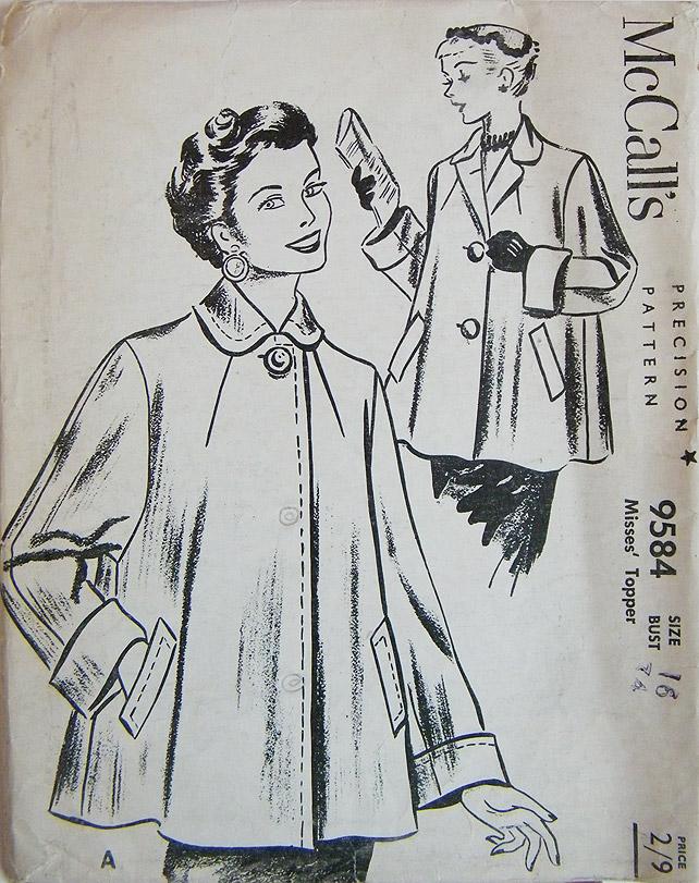 Swing Coat McCalls Pattern