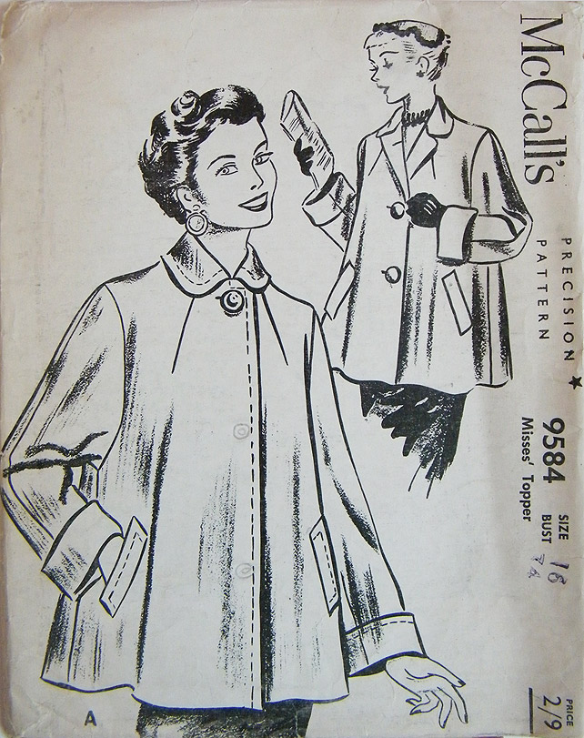 Swing Coat McCalls Pattern