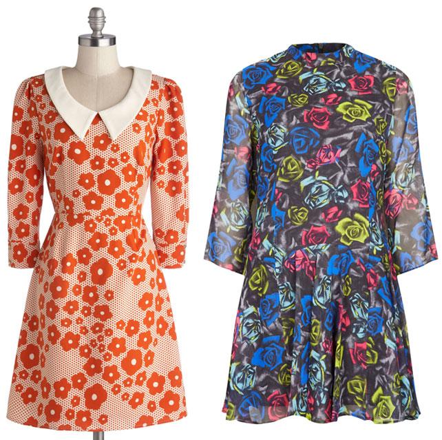 Mod Cloth & TopShop dresses