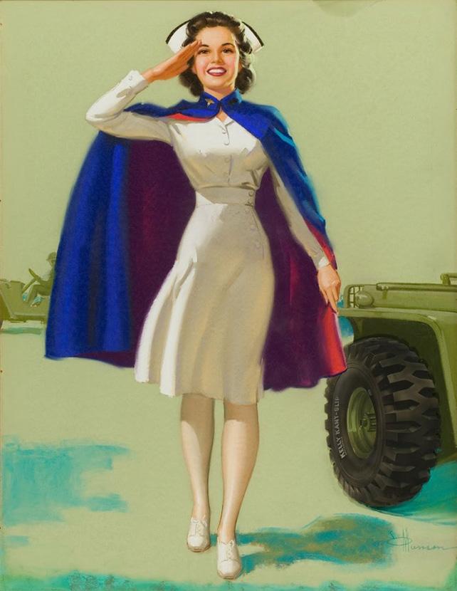 1940s Nurses Cape