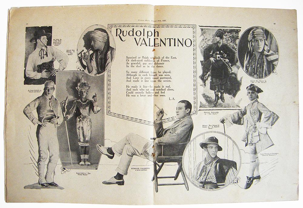 Picture Show - Rudolph Valentino