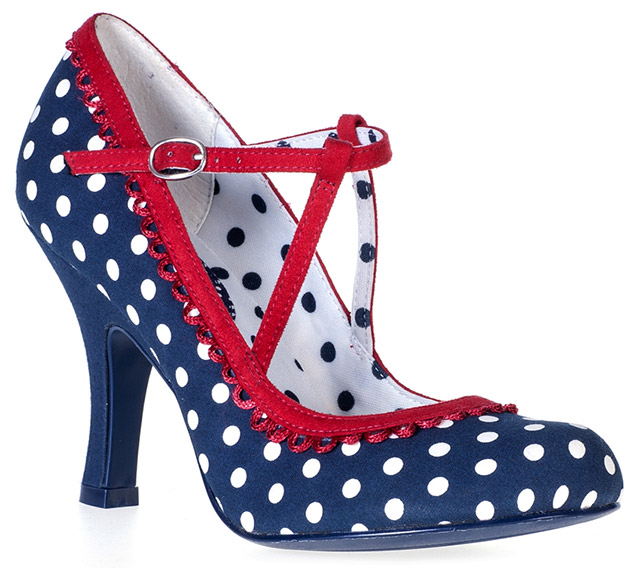 Ruby Shoo Polka Dot Dorothy Shoes by Tiger Milly