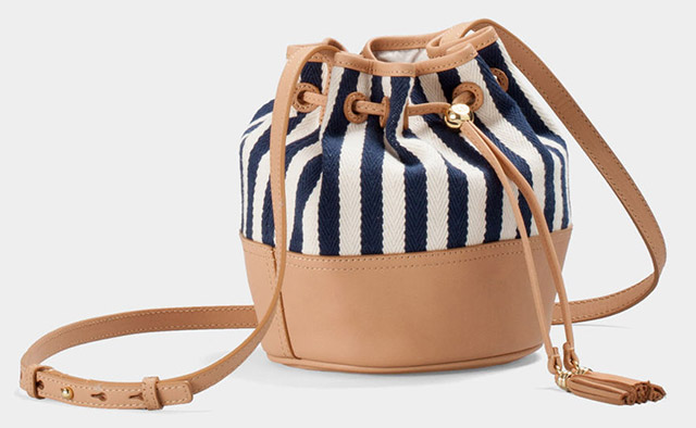 Noe Striped Drawstring Handbag by Ugg