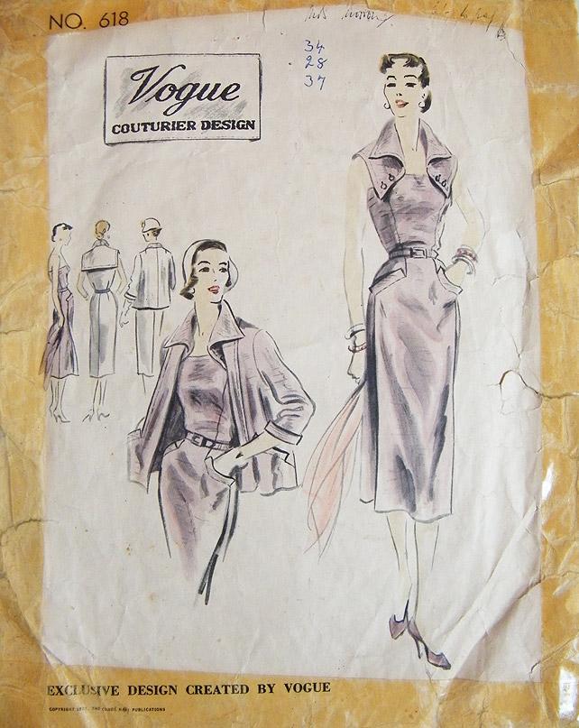 Vogue Pattern no618