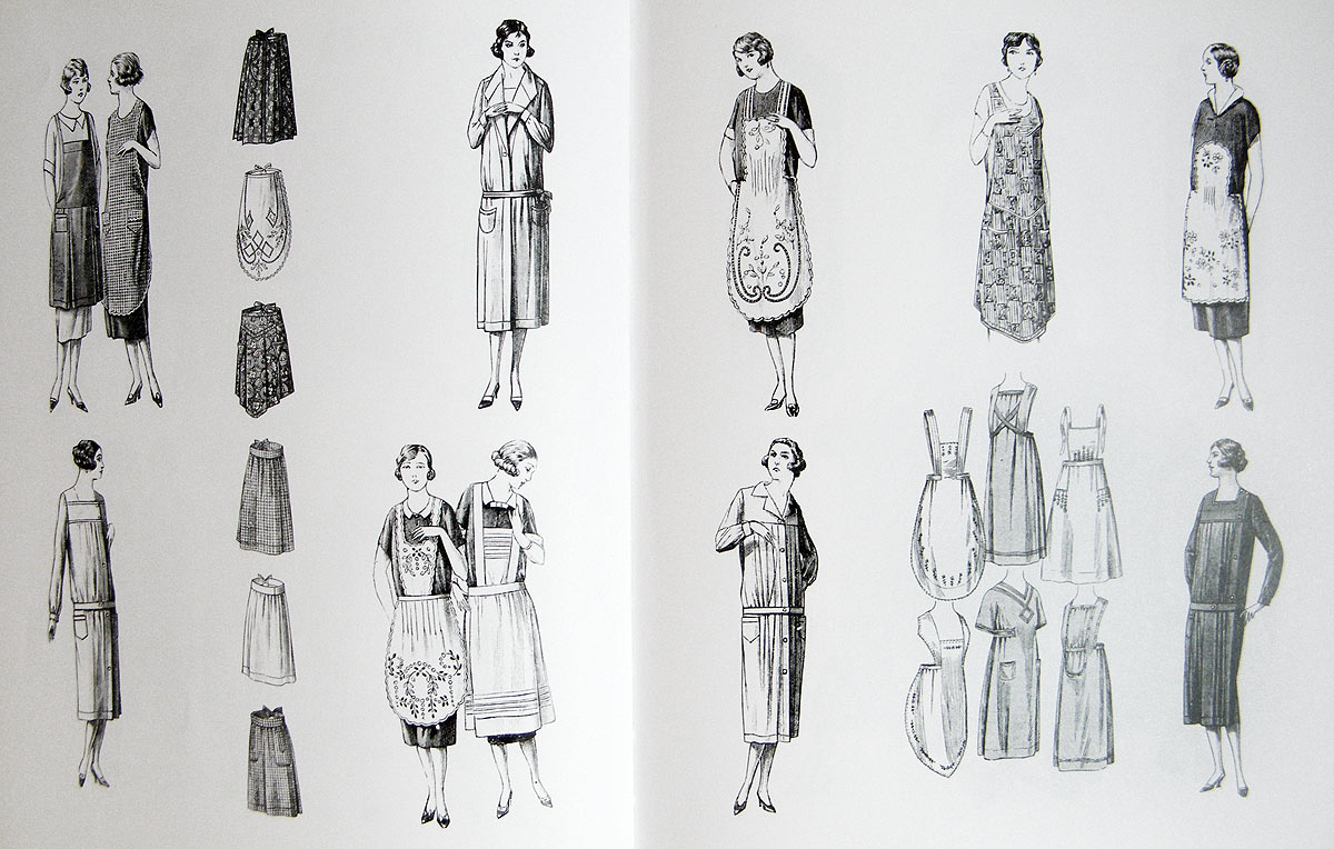 1920s aprons illustration