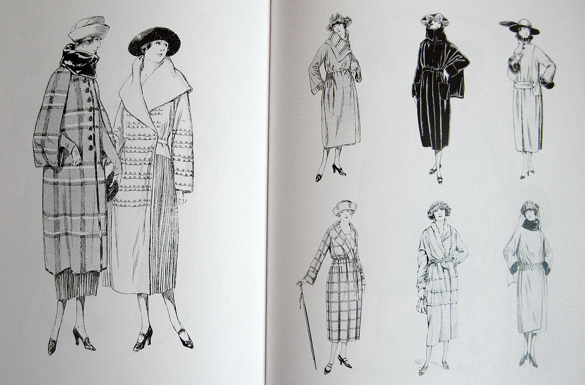 1920s coats illustration