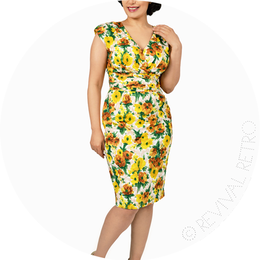 1950s Cynthia Dress from Revival Retro