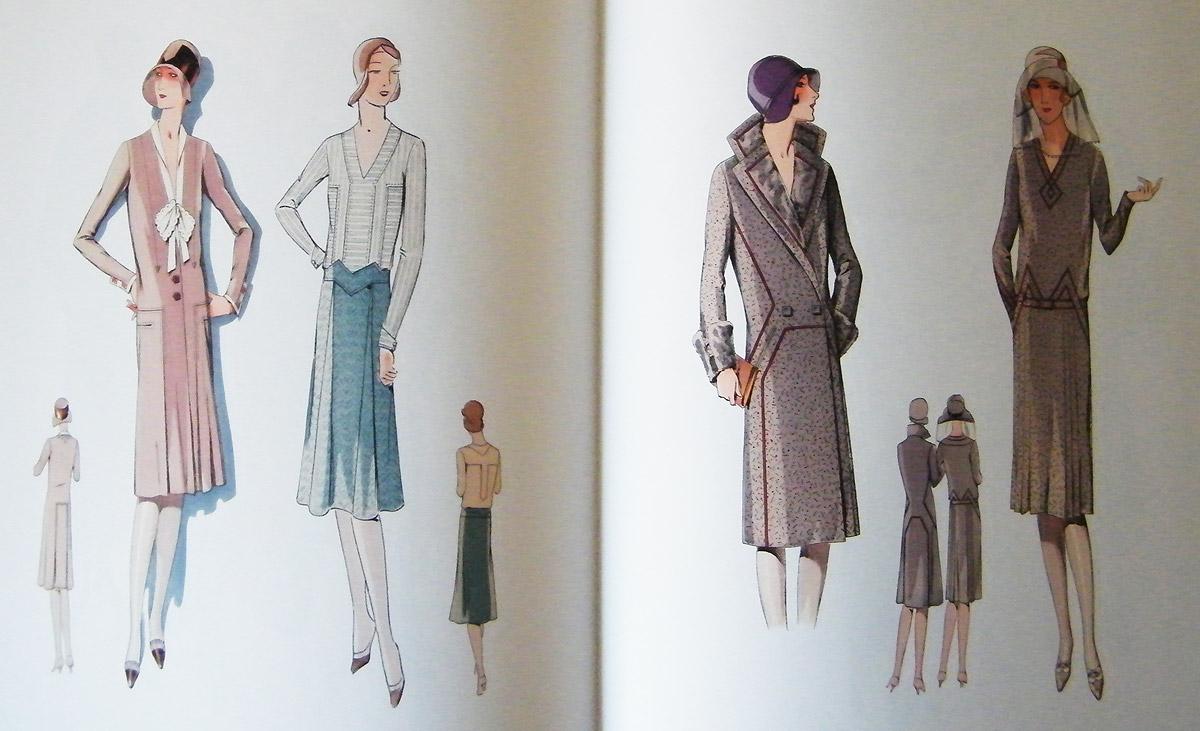 1920s daywear illustration