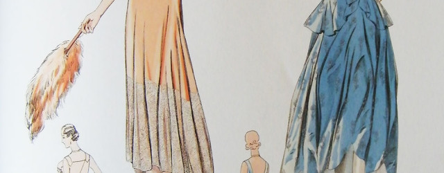 1920s dresses illustration