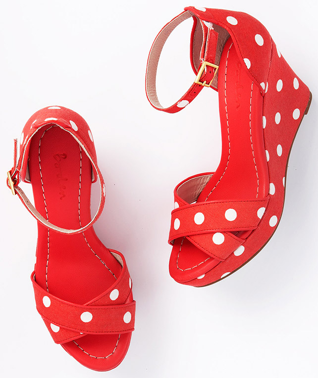 Holiday Wedge by Boden