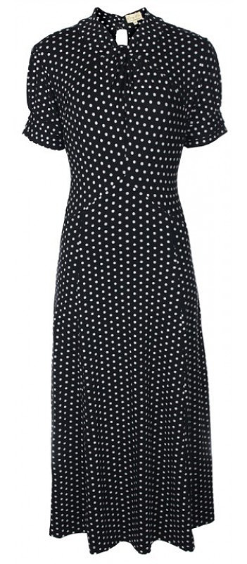 Amie Lindy Bop Dress in black