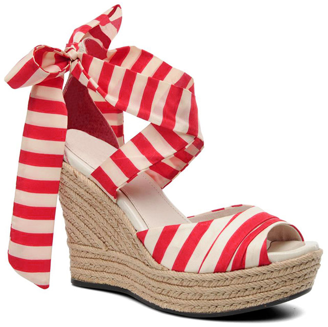 Lucianna Stripe Wedges by Ugg Australia