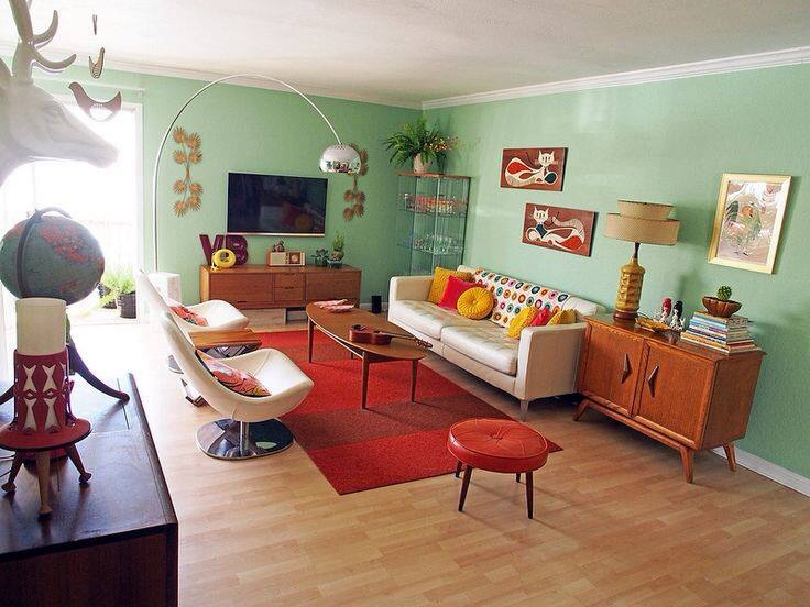 Mid century modern wednesday wish list 4 vintage gal for Vintage style living room ideas