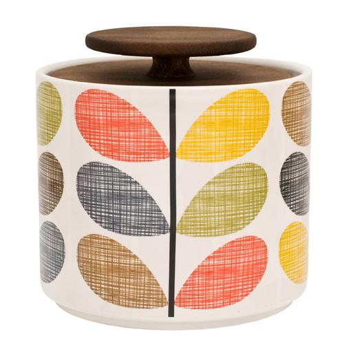 Orla Kiely storage jar
