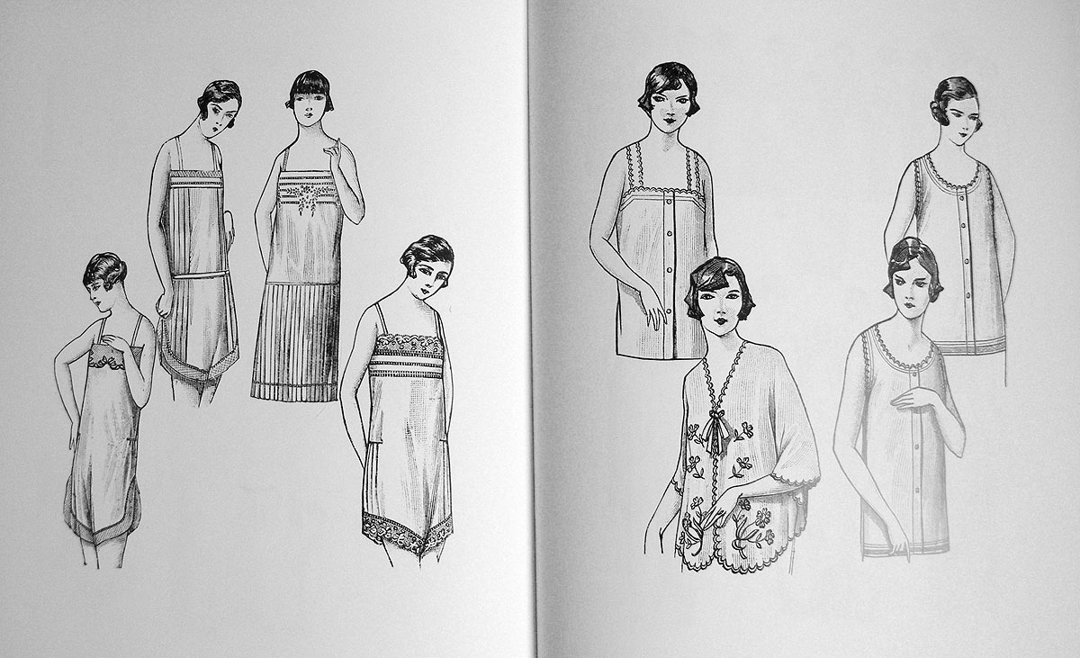 1920s slips illustration