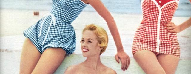 Vintage 1950s swimwear