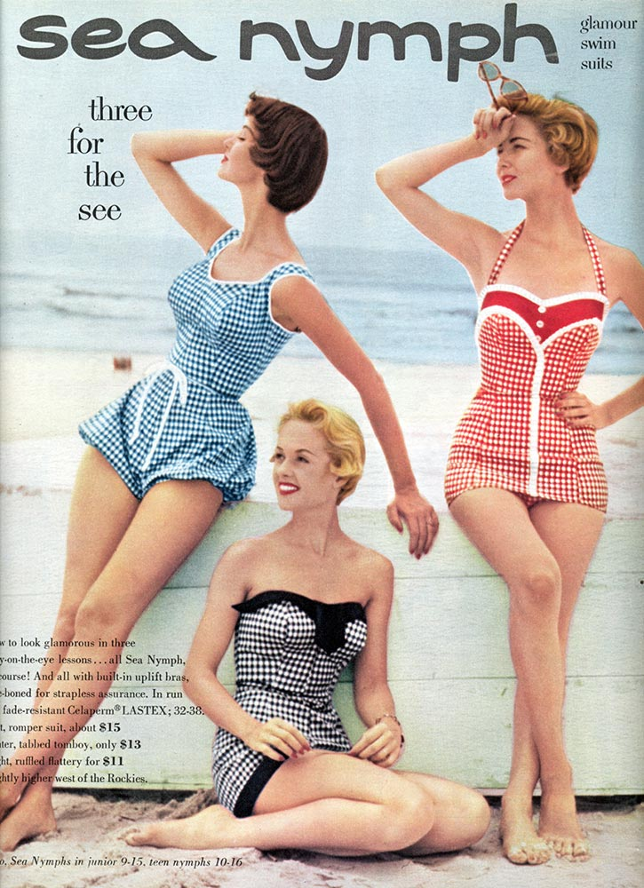 Vintage Swimwear Wednesday Wish List #5 Vintage Gal