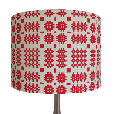 Adra Welsh blanket lampshade