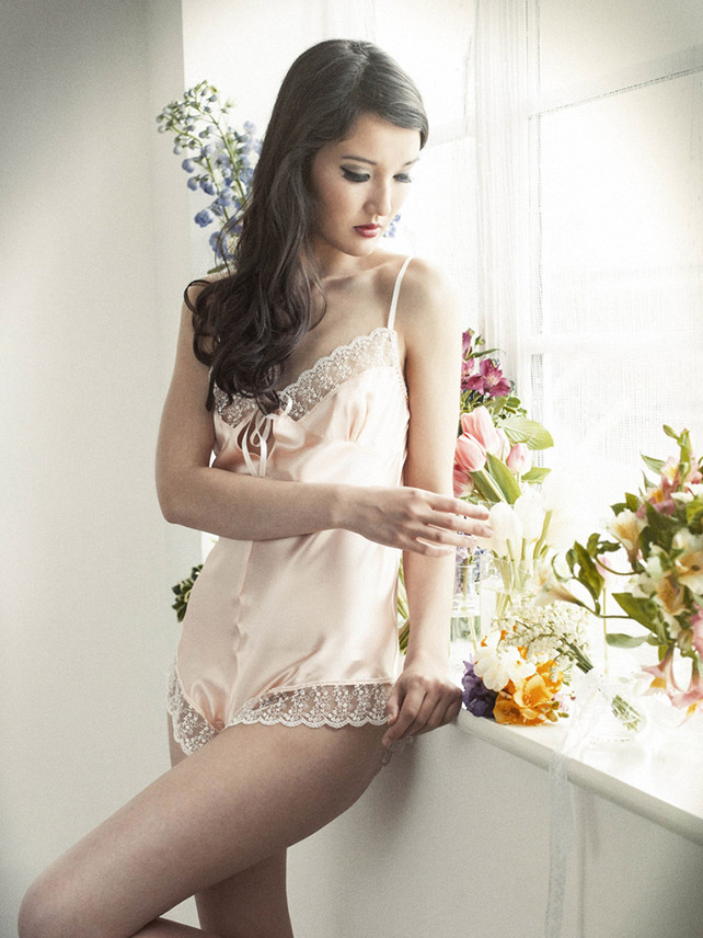 Ayten Gasson Emma Silk Teddy