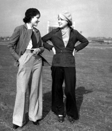 How Trousers Evolved In 20th Century Womens Fashion