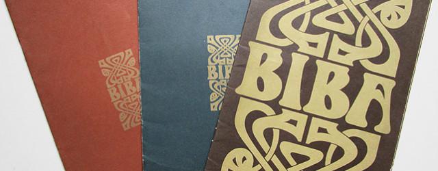1960s Biba Catalogue