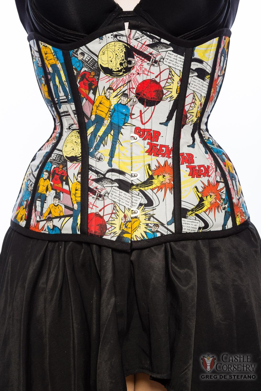 Star Trek underbust corset