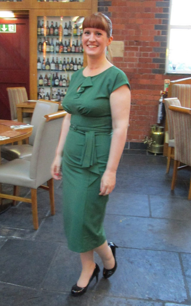 Stop Staring Timeless Dress Green