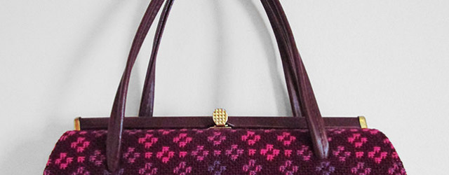 Welsh tapestry Kelly bag