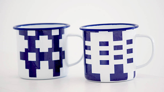 The Gwalia mug set from Blodwen General Stores