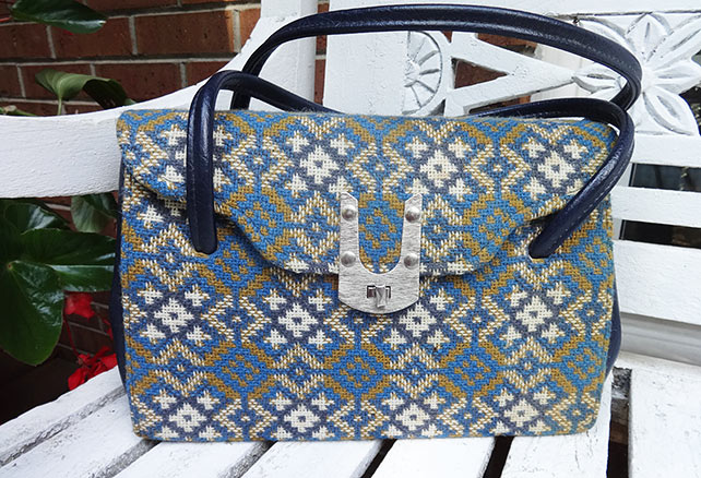 Vintage Welsh Tapestry Handbag