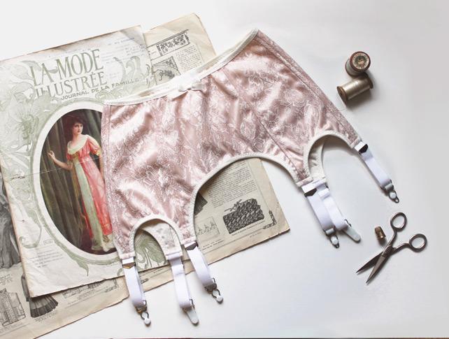 Ohhh Lulu 1314 Greta garter belt pattern