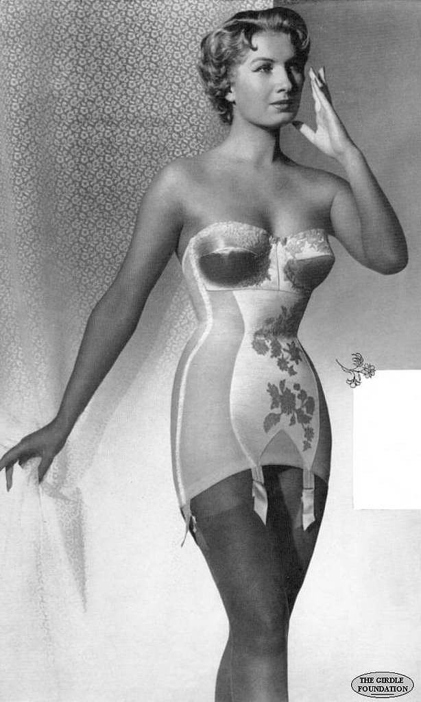 Vintage girdle slip