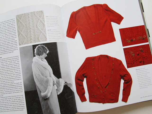 Vintage Fashion Knitwear Book
