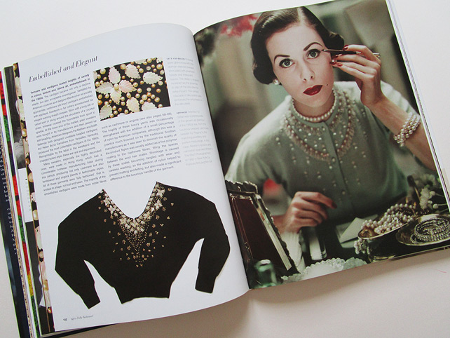 Vintage Fashion Knitwear Book