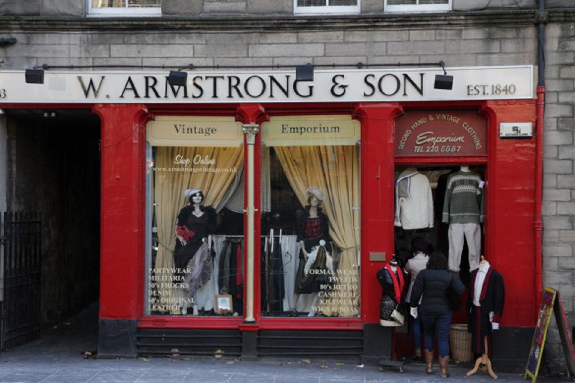 Armstrong's, Grassmarket, Edinburgh