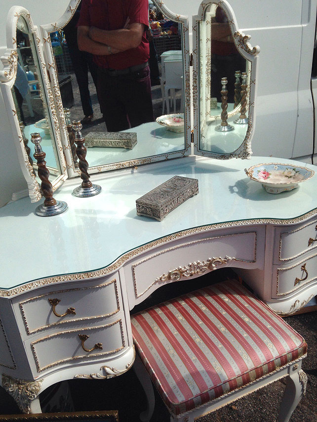 1960s French style dressing table