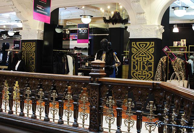 Biba in Jenners, Edinburgh