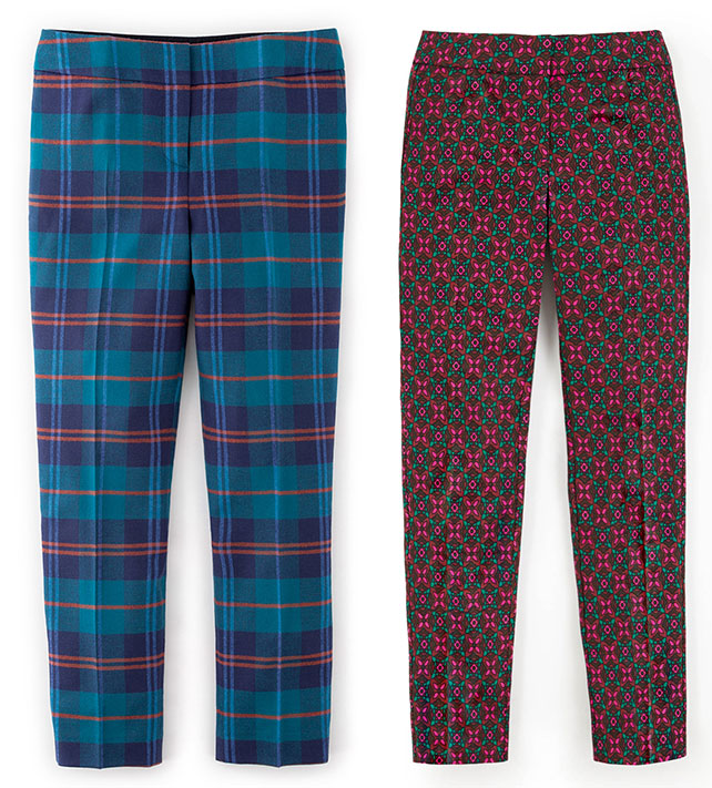Bistro Cropped Trousers - Boden